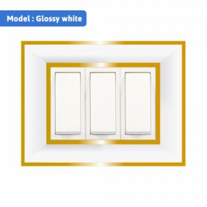 Switches - Glossy white